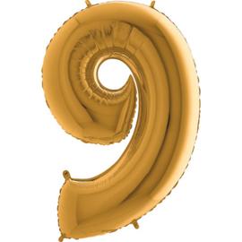 "Cijfer 9 26"" Goud"