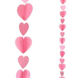 Balloon Tail Roze Hartjes