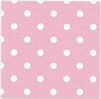 Servetjes Polka Dots Pastel Roze