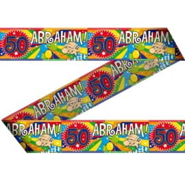 Afzetlint 15 meter Abraham 50