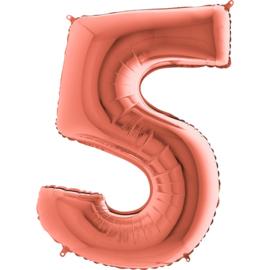 "Sempertex 40"" Nummer 5 Rosé Goud"