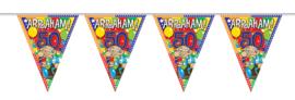 Vlaggenlijn 10 meter Abraham 50