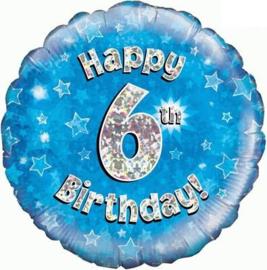 "Sempertex 18"" 6e Verjaardag Blauw"