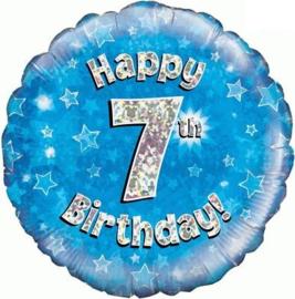 "Sempertex 18"" 7e Verjaardag Blauw"