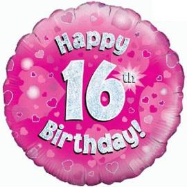 "Sempertex 18"" 16e Verjaardag Roze"