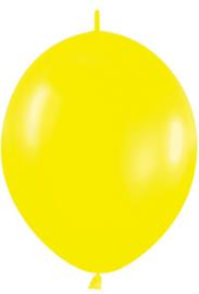 "Link-O-Loon Geel 12""(30cm) 50 st."