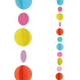 Balloon Tail Multicolor Dots