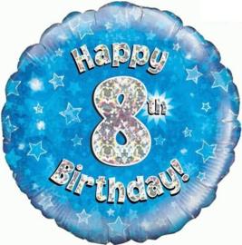 "Sempertex 18"" 8e Verjaardag Blauw"