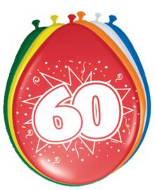 Ballonnen 30cm 60e Verjaardag