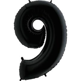 """Sempertex 40"""" Nummer 9 Zwart"""