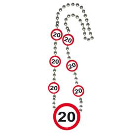 Ketting Verkeersborden '20'