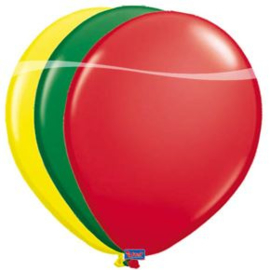 Rood, Geel, Groene Carnavalsballonnen