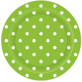 Bordjes Polka Dots Groen
