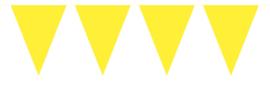 Vlaggen 10 meter Geel