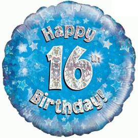 "Sempertex 18"" 16e Verjaardag Blauw"
