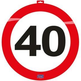 Verkeersbord '40' 47cm
