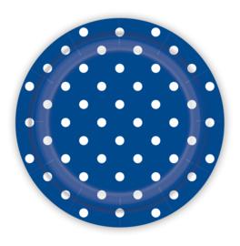 Bordjes Polka Dots Royal Blue