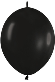 "Link-O-Loon Zwart 12""(30cm) 50 st."