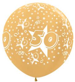 """Sempertex 36"""" Leeftijd 50 Goud st."""