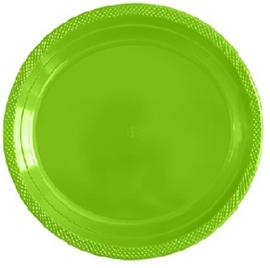 Bordjes Groot LimeGroen 23cm