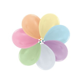 """Pearl assorted 10""""(25cm) 100 st."""