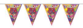 Vlaggenlijn 10 meter Sarah 50