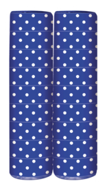 Serpentine Polka Dots Royal Blue
