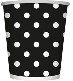 Polka Dots Zwart