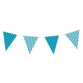 Sempertex Vlaggen 3,6m Polka dots Blauw
