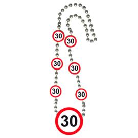 Ketting Verkeersborden '30'