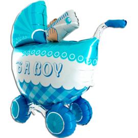Sempertex 3D Kinderwagen Geboorte Jongen