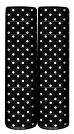 Serpentine Polka Dots Zwart