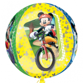 Sempertex Mickey Mouse op de Fiets