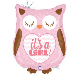 "Shape Helium Ballon 24"" 'It's a girl'"