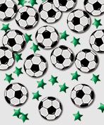 Confetti Metallic Voetbal