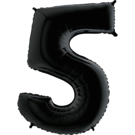 """Sempertex 40"""" Nummer 5 Zwart"""