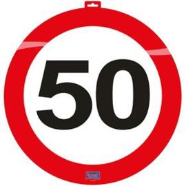 Verkeersbord '50' 47cm
