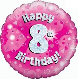 "Sempertex 18"" 8e Verjaardag Roze"