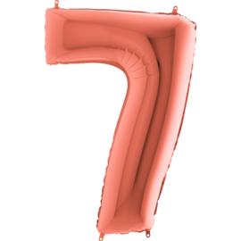 "Sempertex 40"" Nummer 7 Rosé Goud"