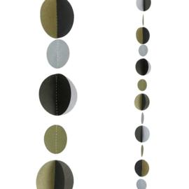 Balloon Tail Zilvere, Goude, Zwarte Dots