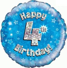 "Sempertex 18"" 4e Verjaardag Blauw"
