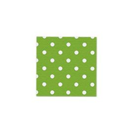 Servetjes Polka Dots Groen