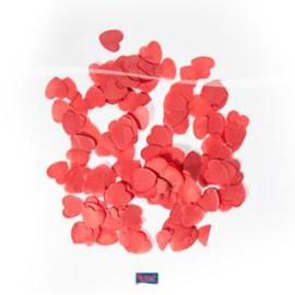 Rode hartjes confetti