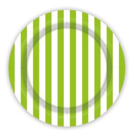 Bordjes Gestreept Groen