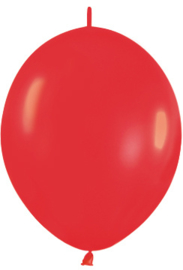 "Link-O-Loon Rood 12""(30cm) 50 st."