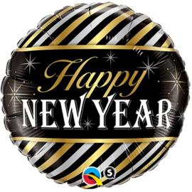 "Ballon 18"" 'Happy new year'"