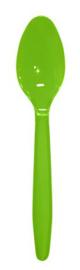 Lepels LimeGroen 12x12stuks