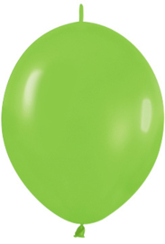 "Link-O-Loon Lime Groen 12""(30cm) 50st."