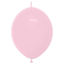"Link-O-Loon Pastel Roze 12""(30cm) 50st."