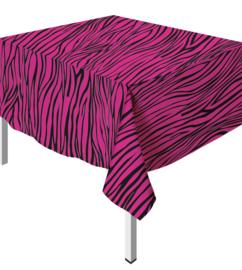 Tafelkleed Zebra Fuchsia